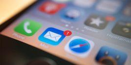 การตั้งค่า E-mail iPhone